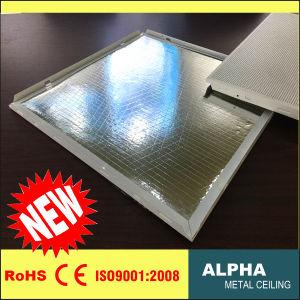 Aluminum Metal Suspended False Decorative Glass Fiber Wool Composite Ceiling pictures & photos