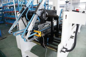 Paper Cardboard Box Gluing Machine (GK-650B) pictures & photos