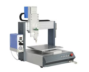 Desktop Conductive Glue Automatic Dispensing Robot pictures & photos