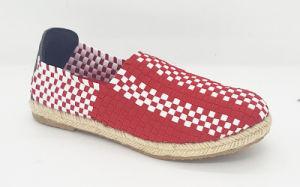 Women Casual Knitting Weave Shoes