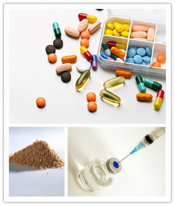 GMP Factory Supply Liver Medicine and Injection Grade Oxymatrine pictures & photos