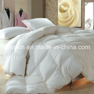 King Size 75% Grey Duck Down Thermal Comforter pictures & photos
