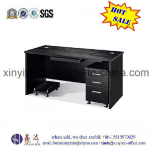 Customized Black Color Clerk Desk MDF Office Furniture (MT-2421#) pictures & photos