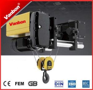 Vanbon 2ton Single Gider Wire Rope Hoist pictures & photos