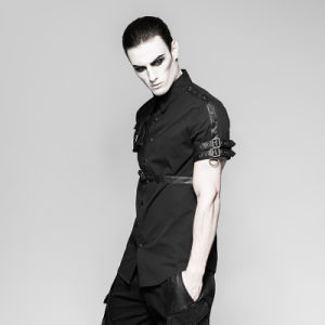 Y-757 Punk Rave Latest Style Exquisite Woven Man Shirts pictures & photos