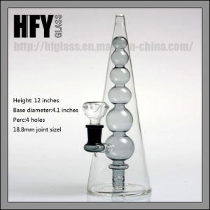 Hfy Glass Hand Blown Water Pipe Straight Base Cheap Smoking Pipes 18.8mm Joint 8 Arms Tree Percolator Pipe Percs Transparent in Stock pictures & photos