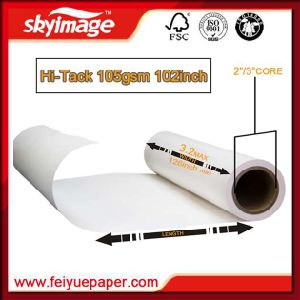 Full Sticky Sublimation Transfer Paper 105GSM 2, 600mm*102inch for Inkjet Printer pictures & photos
