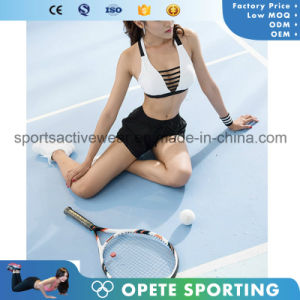 OEM Free Sample Fitness Hot Customized Dri Fit Women Sexy Sports Bra pictures & photos