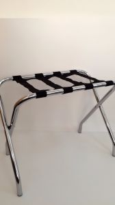 Easy Fold-up Storage Hotel Room Luggage Rack in Chrome pictures & photos
