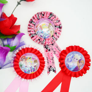 Promotion Gift Customized Ribbon Pin, Badge & Brooch pictures & photos
