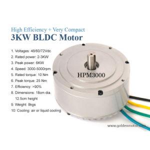 3kw Electric Motorbike Conversion Kit 48V /72V Motor BLDC pictures & photos