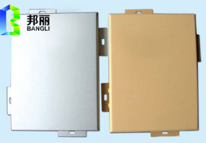 Aluminum Wall Panels Metal Material Exterior Interior Wall Panel Aluminum Profile pictures & photos