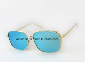 Zero-Base Square Full Metal Frame Km16157 Fashion Metal Sunglasses pictures & photos