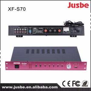 Jusbe S-70 65W 8ohm 4 Speaker Link Multimedia Integrated Powered Audio Digital Amplifier with Microphone Interface Cheap Price pictures & photos