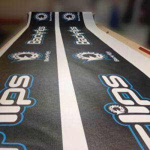 Customized Mesh Barricade Cover Banners Durable Wind Through Mesh Banners pictures & photos