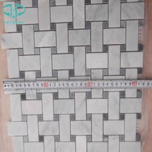 Statuary White Mosaic, White Mosaic, Polished Mosaic, Mosaci, Marble Mosaci pictures & photos