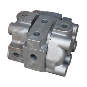 Garbage Can Junction Box Iron Pump Gearbox Impeller Valve Casting pictures & photos