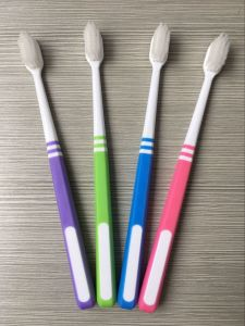 Small Head Adult Toothbrush with PBT Bristle pictures & photos