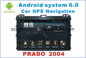 New Ui Android 6.0 Car DVD Player for Toyota Prado 2004 with Car Navigation