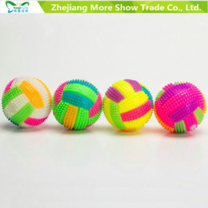 Light up Volleyball Sounding Flashing Bouncing Hedgehog Balls Kids Toy pictures & photos
