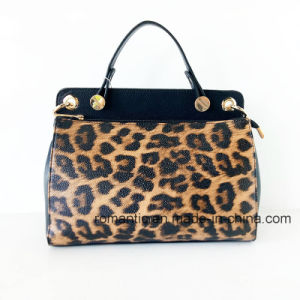 Trendy Designer Fashion Lady PU Leopard Handbags (NMDK-052702)