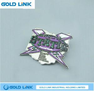 Souvenir Crafts Custom Metal Badge Lapel Pin Shool Emblem pictures & photos