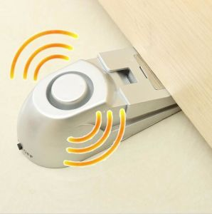 100dB Door Stop Alarm Home Security Door Stopper Warning Alarm System pictures & photos