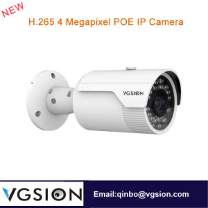H. 265 4 Megapixel Poe IP Camera