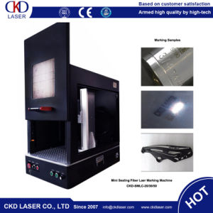 Hot Sale Fiber Laser Marking Machine for Metal pictures & photos