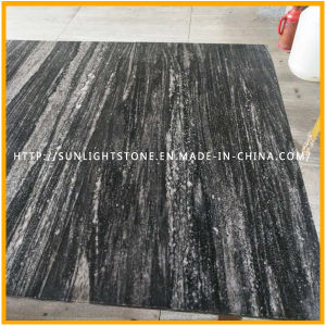 Polished/Flamed/Antique Surface Black/Grey Vein Granite Flooring Tiles pictures & photos