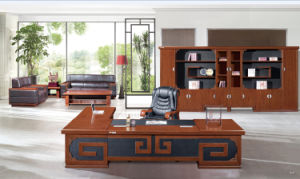 Luxury Wooden Executive Boss Office Table Foha-88423 pictures & photos