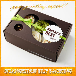 Paper Corrugated Gift Packing Box Cupcake pictures & photos