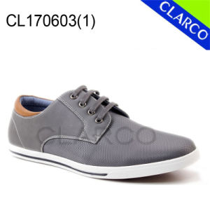 Men Casual PU Sneaker and Loafer Shoes pictures & photos