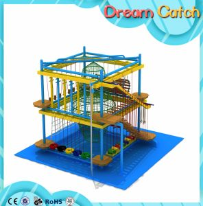 Best Selling Kids Indoor Ropes Climbing Frameset for Mall pictures & photos