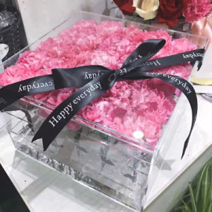 Factory Supply Personalized Acrylic Flower Box pictures & photos