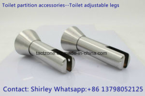 New Design Toilet Partition Accessories 304 Stainless Steel Adjustable Legs pictures & photos