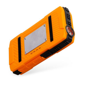 Waterproof External Battery Power Bank Charger with Strong LED Flashlight pictures & photos