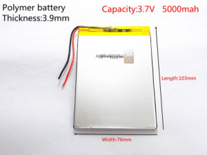 High Capacity Polymer Lithium Battery, 3976103, 5000 mAh Sun N70 7 Inch Tablet Battery pictures & photos