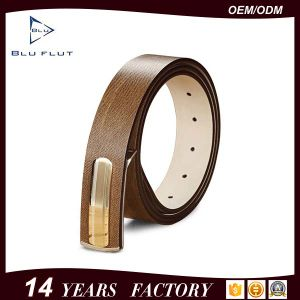 High Quality Genuine Cowhide Leather Man Belts pictures & photos