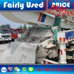 8X4 Fairly Used Zoomline Benz Pump Truck of Concrete Pump pictures & photos