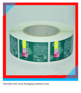 Custom Printed Roll Self Adhesive Sticker Label pictures & photos