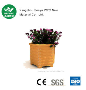 Waterproof WPC Garden Flower Pot pictures & photos