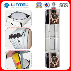LED Light Aluminum Twister Tower Display pictures & photos