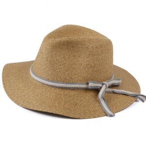 Wavy Big Brim Raffia Hat pictures & photos