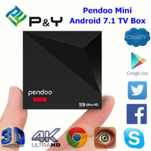 Pendoo Mini Rk3328 1g 8g Arabic Android TV Box of Higih Quality Android 7.1 TV Box pictures & photos