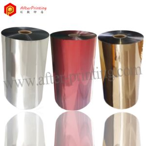 Glossy and Matte Various Colors Metallized Pet Thermal Lamination Film 22micron