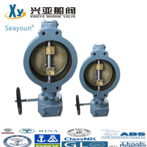 Shipyard Double Eccentric Butterfly Valve pictures & photos