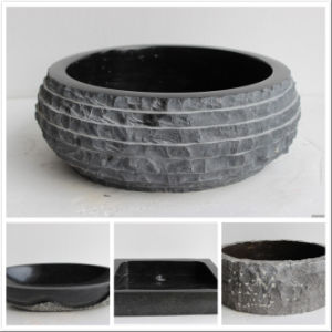 Natural Granite Stone Sink/Bowl/Basin for Bathroom pictures & photos