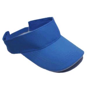 Blank Blue Visor Cap (JRV055) pictures & photos