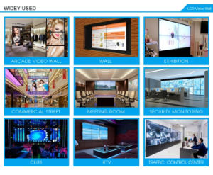 55 Inch 3.5mm Narrow Bezel 3X3 LCD Video Wall with Controller (MW-551VAD) pictures & photos